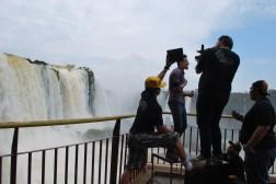 Pop video, Iguazu Falls.