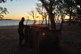 Evening barbeque, Carmelo, Uruguay
