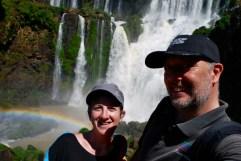 Iguazu Falls selfie (Argentina)