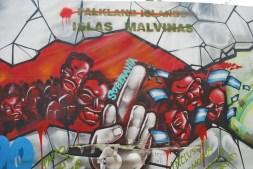 Malvinas mural, Buenos Aires