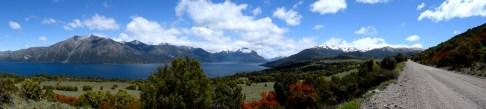Lago Huechulafquen, Patagonia, Argentina.