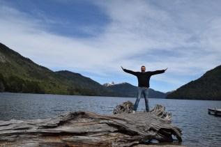 Lago Hermoso, Ruta de los Siete Lagos, Argentina