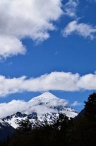 Volcano Lanin, Argentina