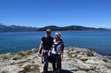 Me and mum, Arrayanes National Park