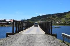 Driving towards Manzano, Chile