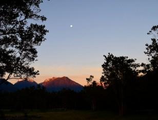 Sunset, Puelo