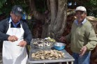 Preparing curanto, Quetalmahue, Chiloé