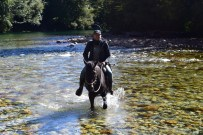 River crossing by horse