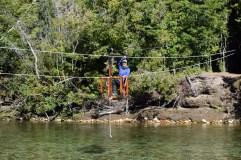 River pulley! La Junta, Chile
