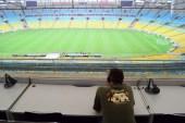 Press box, Maracana stadium