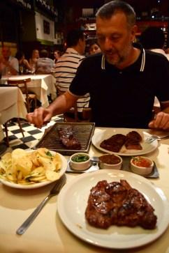 Steak night, Buenos Aires