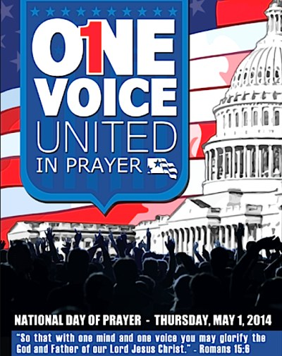Nat Day of Prayer 2014