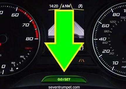 oil change service inspection minder reset