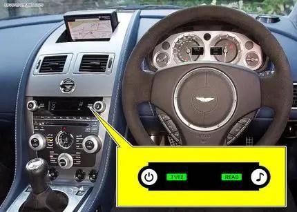 Time For Regular Service Light Reset On Aston Martin Db9