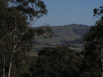Kacross to the hill over the valley CAMERA