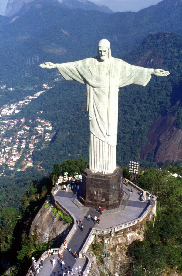 Christ Redeemer Statue Seven Wonders Of World 2012