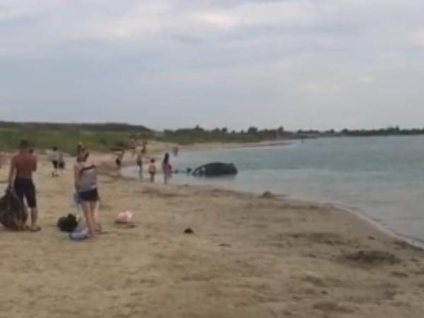 утонул авто