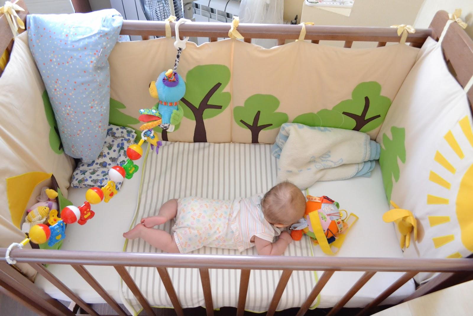 베이비를위한 보호 안전 침대