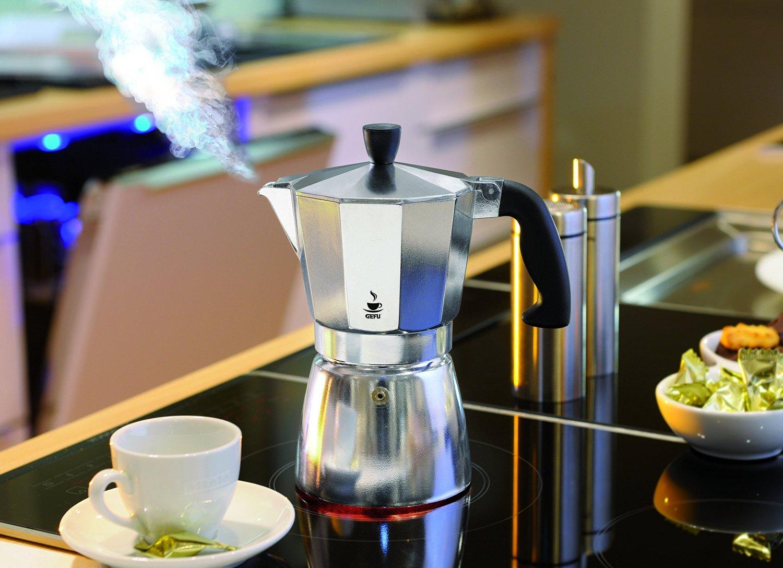 Puhdistus kahvinkeittimet