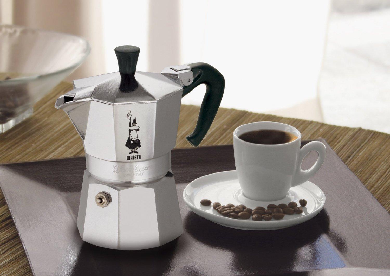 Metallinen Geyser-kahvinkeitin