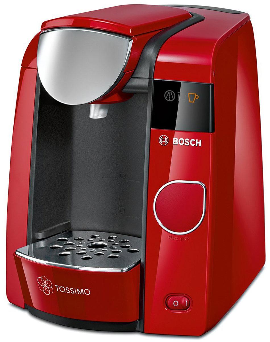 Kapselin kahvinkeitin punainen