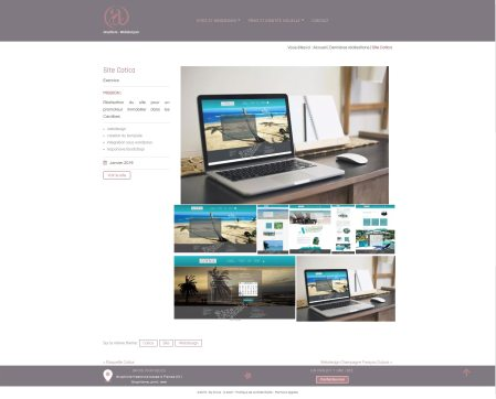 site BySave webdesign cotica