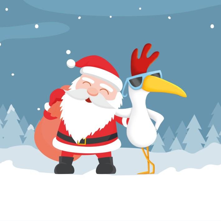 Offre Noël profil Facebook Poule des Champs