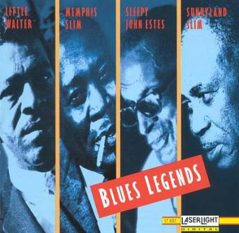 Blues Legends, CD.