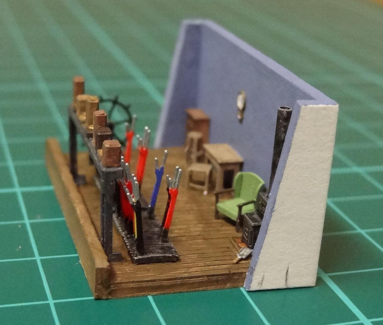 N20 Signal Box Interior  Severn Models
