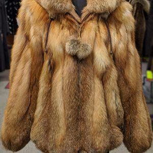 Red Fox Bomber Jacket