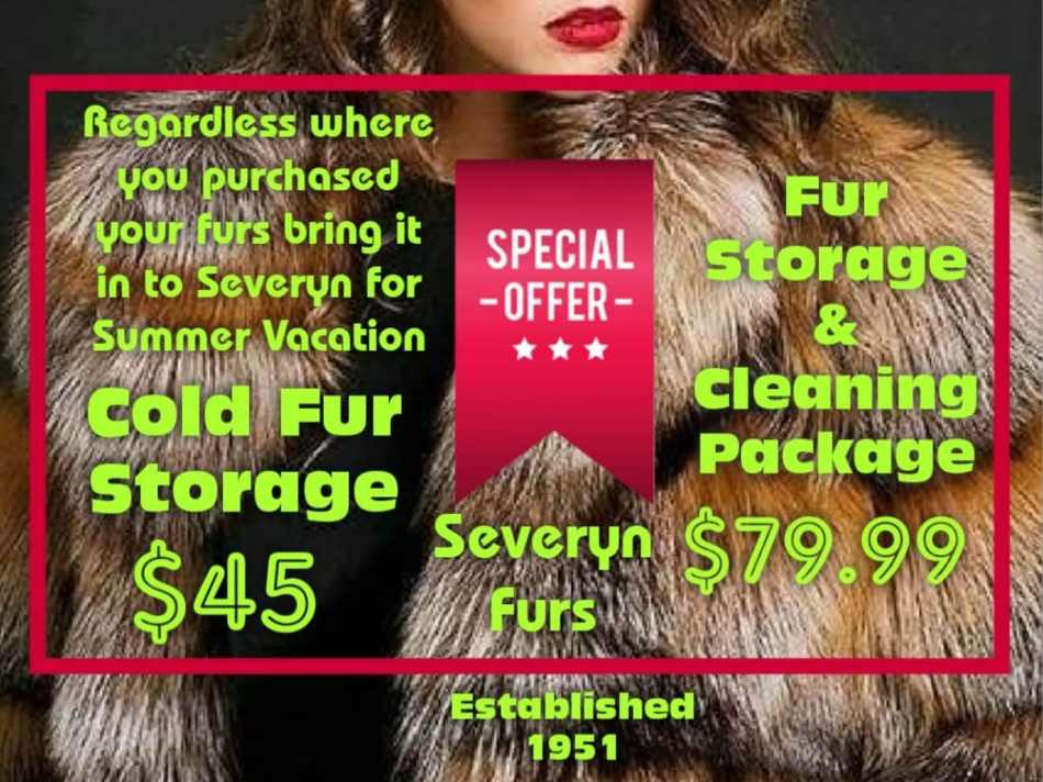 Fur Storage And Cleaning Package