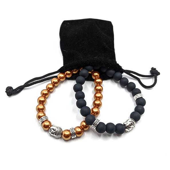 Pulseras para parejas – Buda Zen 📿