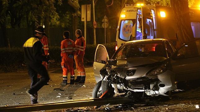 Más de la mitad de los fallecidos por accidente de tráfico en Sevilla en 2013 iba en moto
