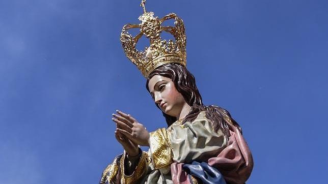 La Inmaculada Concepción de Alhendín, una virgen que solo procesiona cada cinco años