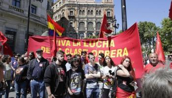 Los sindicatos salen a la calle en un Primero de Mayo sin incidentes en Andalucía