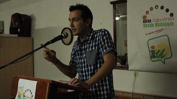 El concejal Manuel González de NIVA-IU