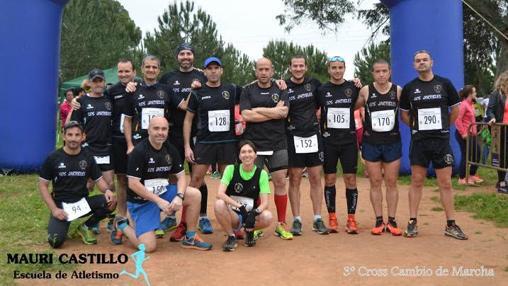 Club Deportivo Los Jartibles en el 3º Cross Cambio de Marcha de Alcalá de Guadaira