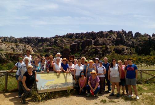 Excursión de la Asociación de Enfermos de Fibromialgia de Sevilla