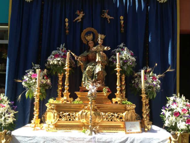 altar altozano