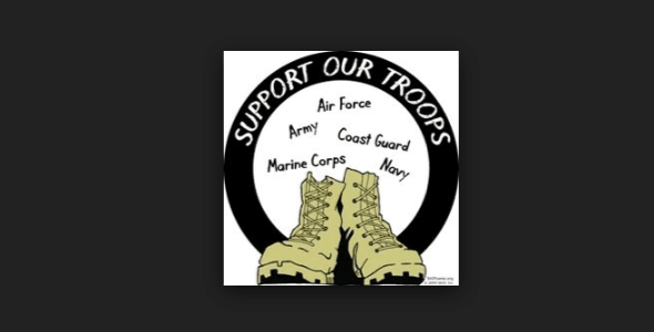support the us military