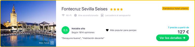 Mejor hotel de Sevilla
