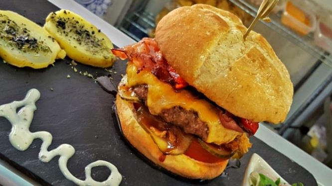hamburguesa wurst & burger