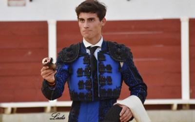 Diego Bastos, finalista del ciclo de novilladas de las Escuelas de Andalucía