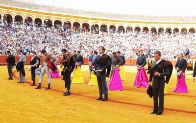 Cartel de lujo para el festival del 12 de octubre en Sevilla