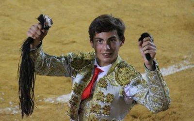 Utrera: Diego Bastos, alumno de la Escuela de Sevilla, apunta alto