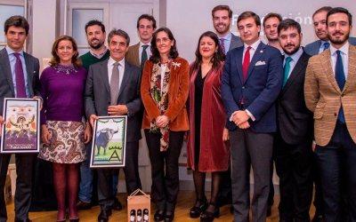 Aguado y Victorino recogen los III Premios del Círculo Taurino Puerta Carmona