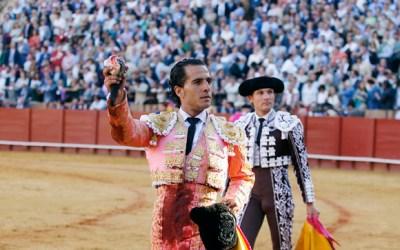 Iván Fandiño y David Mora, mano a mano con Victorino hace 8 años