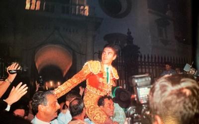El glorioso año 2001 de José Tomás en la plaza de toros de Sevilla