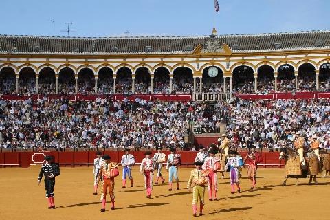 Carteles oficiales de la temporada taurina de Sevilla en 2019