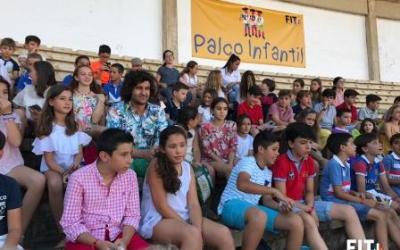 Morante inauguró el palco infantil de Badajoz